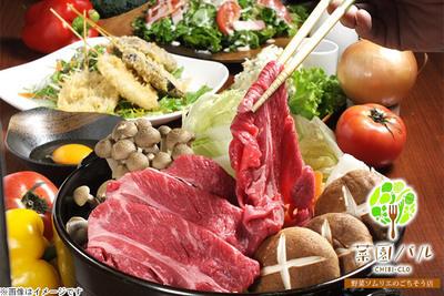 すき焼き鍋など超豪華肉三昧コース8品+2.5時間飲み放題☆2...