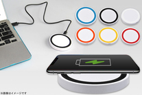 75%OFF【980円】≪☆送料無料☆iPhone8 / Xのワイヤレス充電ができるパッド!USBから電源を取るので、パソコン周りなどで...