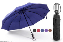 56%OFF【1,290円】≪☆送料無料☆風に強い10本骨構造なので天候が悪い日でも安心!手元のスイッチで傘がワンプッシュで開きます♪「...