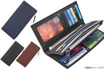 【1,150円】≪☆送料無料☆コンパクトなのに大容量、メンズ3連長財布です♪カードが26枚も収納できて、かさばるカード類もスッキリ◎「大...