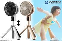【14,800円】≪世界シェアトップを誇るファン技術をご家庭の扇風機で体感!!「kamomefan20cmリビングファン」≫