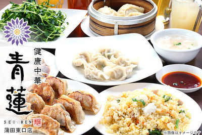 健康中華庵 青蓮 蒲田東口店