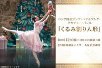 20%OFF【10,000円】≪クリスマスにぴったり!チャイコフスキー・バレエの傑作『くるみ割り人形』を心ゆくまでお楽しみください/ロシ...