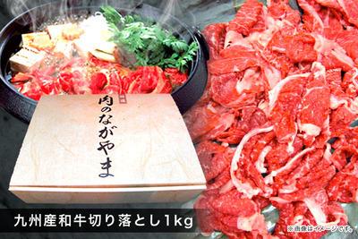 肉のながやま 最高級品質の九州産和牛切り落とし1kg