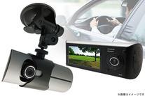 【6,780円】≪☆送料無料☆GPS情報、緯度・経度情報などをGoogleMap上で管理ができる!前方&車内の様子を録画できる2カメラ搭...